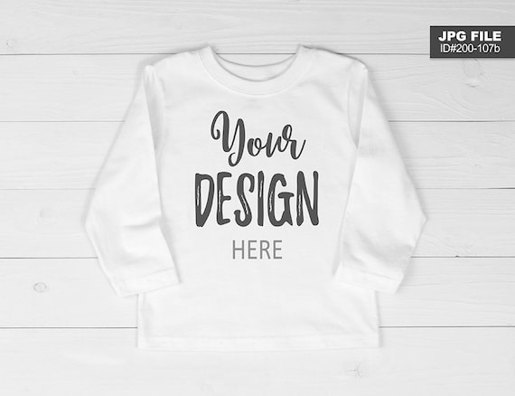 Image result for kid long sleeve mockup