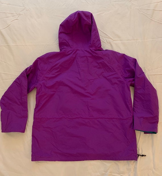 Vintage 90s Columbia Sportswear Ski Jacket Neon PurpleGreen Men's Size XL