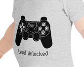 Player 3: Level Unlocked Baby Body Suit for Boys and Girls