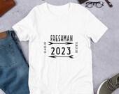 Back to School: Freshman Class of 2023, Short Sleeve T Shirt for Men and Women