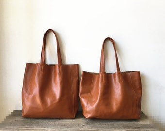 49c73b042fec Large Leather Tote Bag