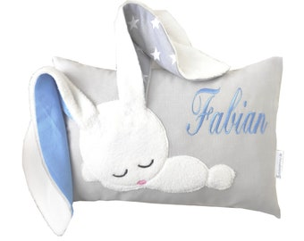 Name pillow for birth Pillow with names for boy