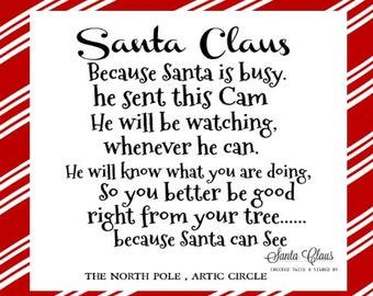 picture regarding Free Printable Santa Letters identify Santa letter Etsy
