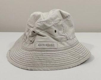 ae5566535fb0e vintage abercrombie   fitch khaki bucket hat