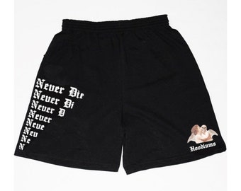 62bf79e90b Never Die fade-away shorts