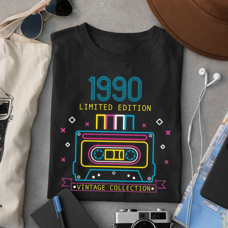 31-Year-Old Vintage Design T-shirt Men/'s and Women/'s Bio Humor Limited Edition Retro Cassette T-shirt