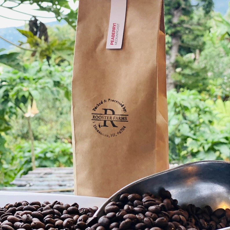 1 lb 100% Hawaiian Coffee  Small Batch Roasted Coffee  Great image 0