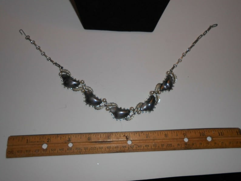 Vintage signed CORO necklace /& Earring set