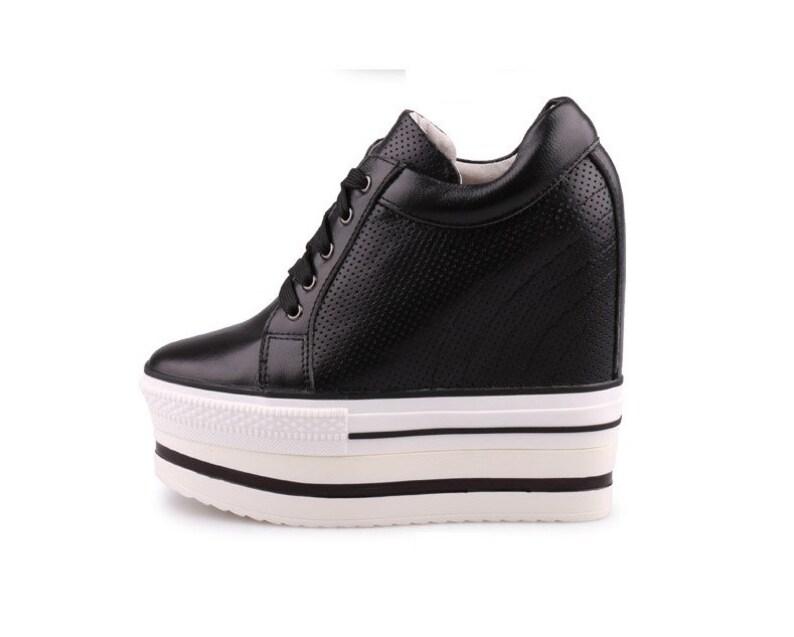 4141bbdd9a7990 Hohe Plattform Schuhe benutzerdefinierte 13 cm versteckte
