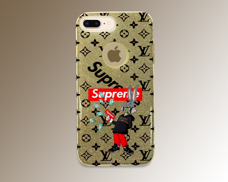 8f4c855bd190 Inspired by Supreme Bugs Bunny iPhone X case iPhone 8 case