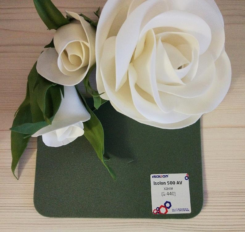 1dc1af8c933e Izolon Khaki 10m2 for giant paper flowers-foam stem