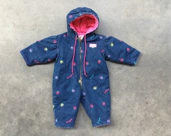 c5a99061a Baby snowsuit