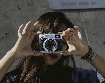Tyvek Paper Slim Wallet Artist Design Pullhaze Camera For Man Woman