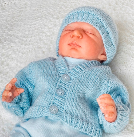 f1f85f85beeb Pdf knitting pattern download for Premature Baby boy or girl