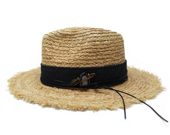 c0694e79e3dda Sun Hat- One Size fits all- Mens and Womens Straw Fedora