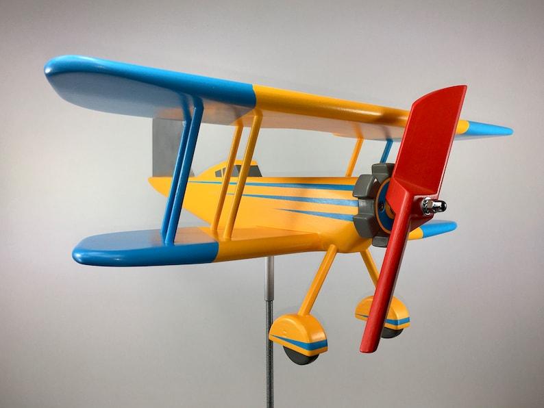 Girouette Avion Bois R U00e9f 20  015 Les Girouettes D U0026 39 Angelo