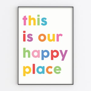 Do More Of What Makes You Happy Wall Text Typography PosterA5 A4 A3 A2 A1
