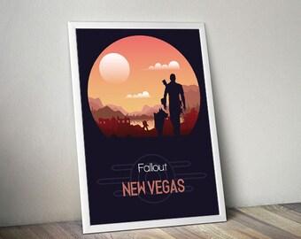 New vegas poster | Etsy