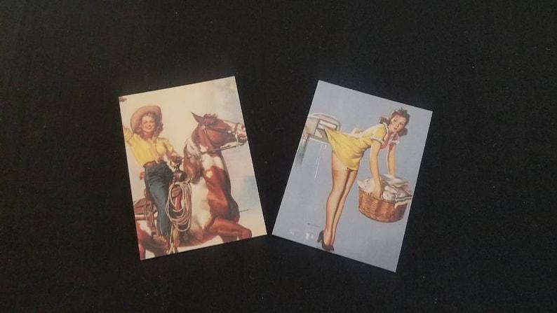 Complete set 1994 90 Gil Elvgren Calendar Pinup Trading cards