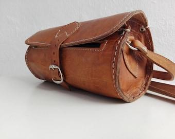 Leather Bag Men Etsy
