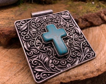 Western Cross Pendant