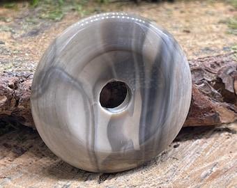 Striped Flint Stone 40mm Donut F110