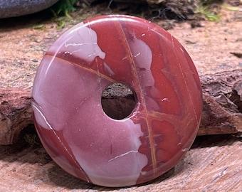 SCRATCH n DENT Noreena Jasper 50mm Donut Pendant NJ214