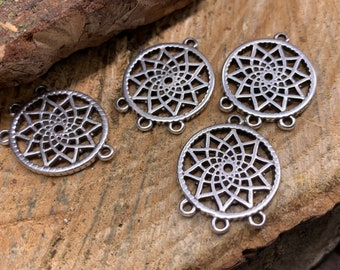 Dream Catcher Charms (lot of 4)