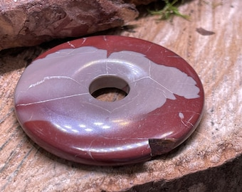 SCRATCH n DENT Noreena Jasper 50mm Donut Pendant NJ215