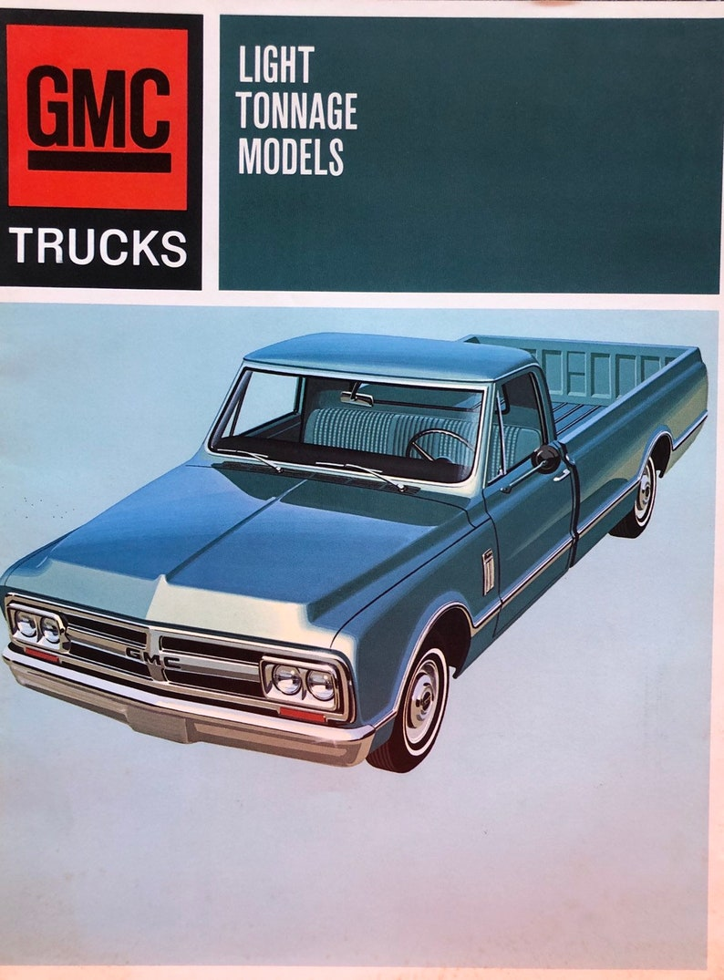 c67558c9ce3e3f 1966 GMC light tonnage truck brochure