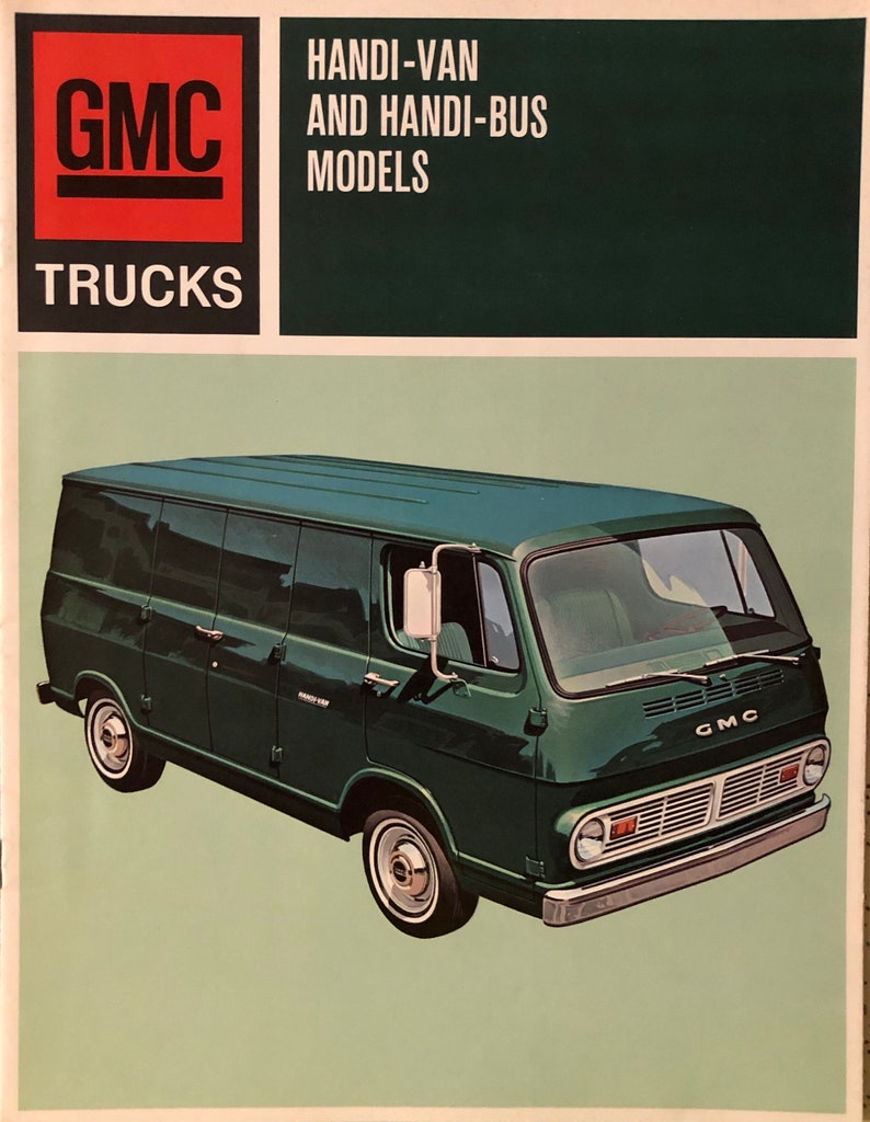 7dc249c6edb94e 1967 GMC Handi Van dealership brochure