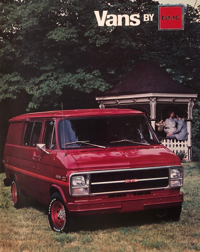 fd9e17e3a592db 1979 GMC Van dealership brochure