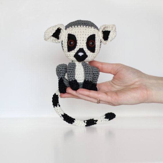 Ravelry: Hococo the Lemur pattern by Alan Dart (With images ... | 570x570