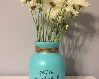 Decorative Woodenvazerustic Vaze Handmade Woodvaze Etsy