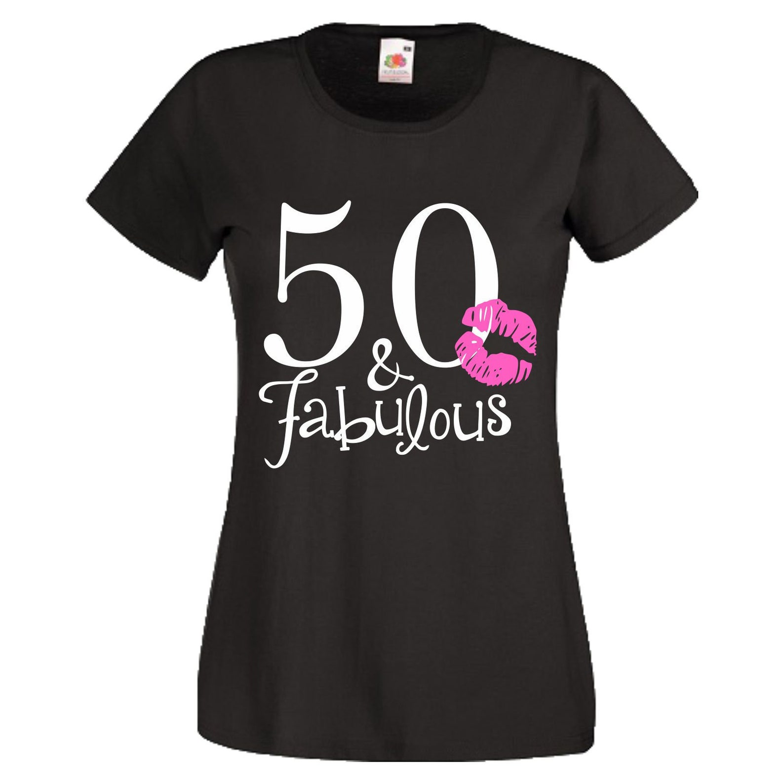 50 & fabulous t-shirt