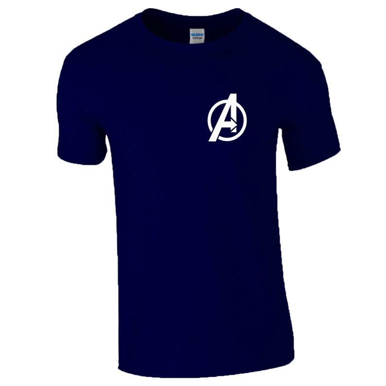 Birthday Gift Youth Kids Tee Top Ironman Captain America Captain Marvel Infinity War Endgame Avengers Logo T-Shirt