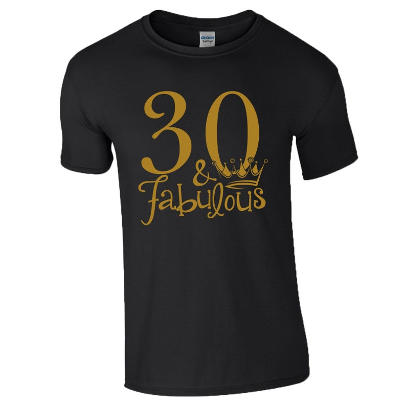 30th Birthday Gift T-Shirt Love 30 And Fabulous Kiss Made in 1989 Years Mens Top
