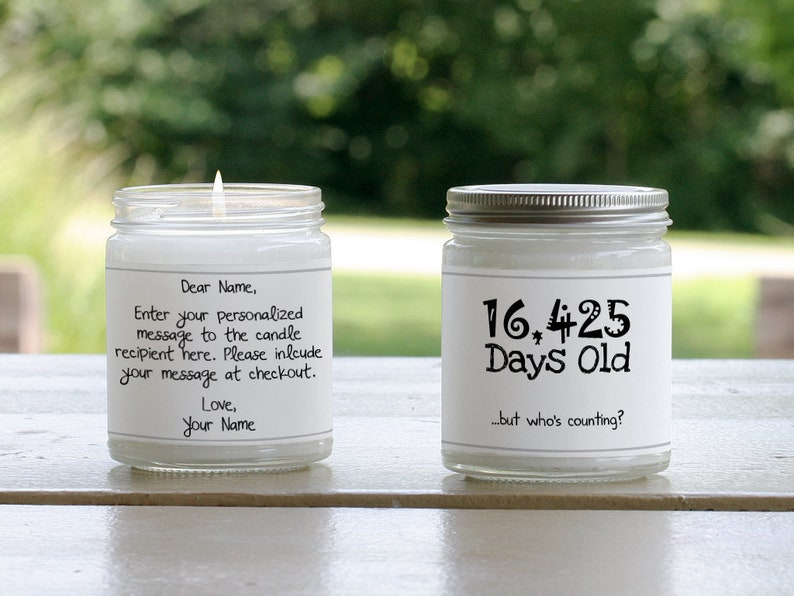 Candle Birthday Gifts For Dad Gift Ideas Men Bday