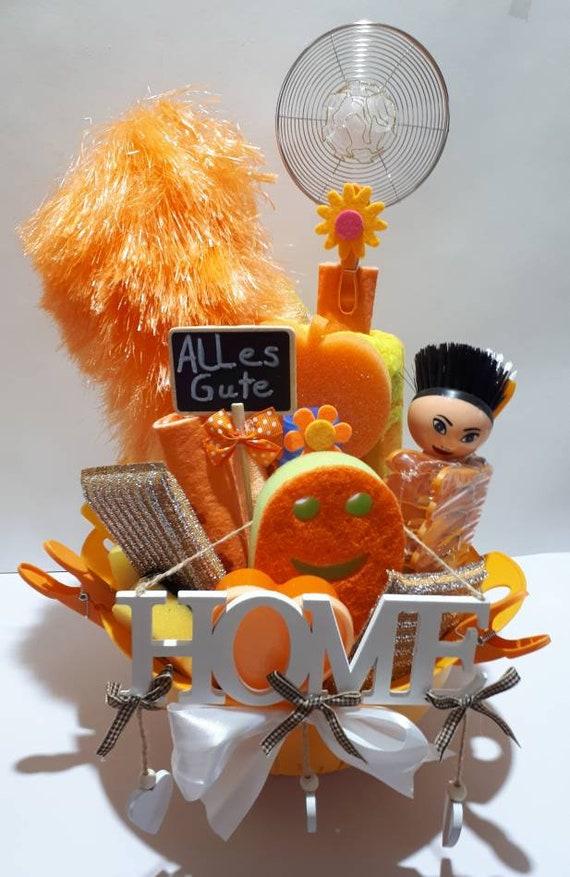 Geschenk Zum Einzug Umzug Geburtstag In Orange