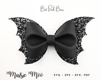 Black bat bows