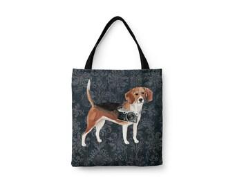 efd537c06ebf Illustrated beagle | Etsy