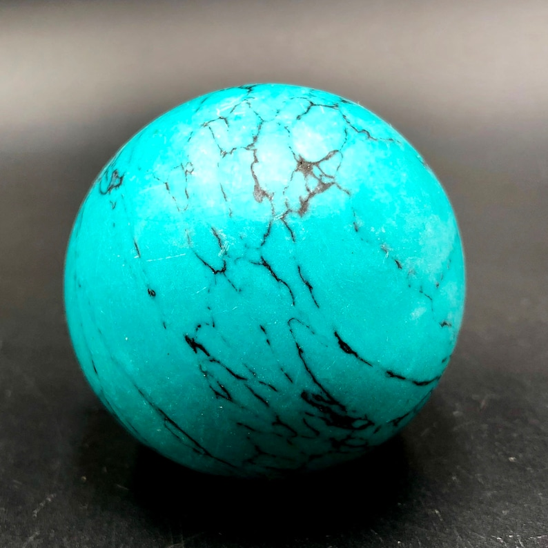 Blue Turquoise Sphere Ball   Turquoise Ball Crystal Ball Healing  Turquoise  #Q18 AAAA++