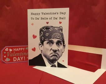 6d4db3f90b20ac The Office Inspired Valentine s Day Card