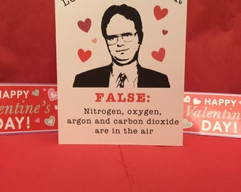 The Office Valentines Day Card Etsy