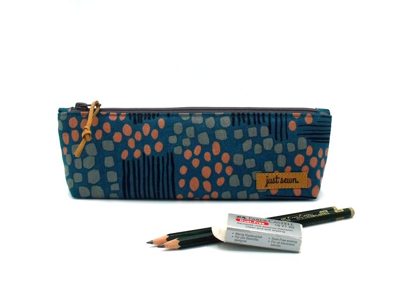 Pencil case Pattern  Petrol image 0