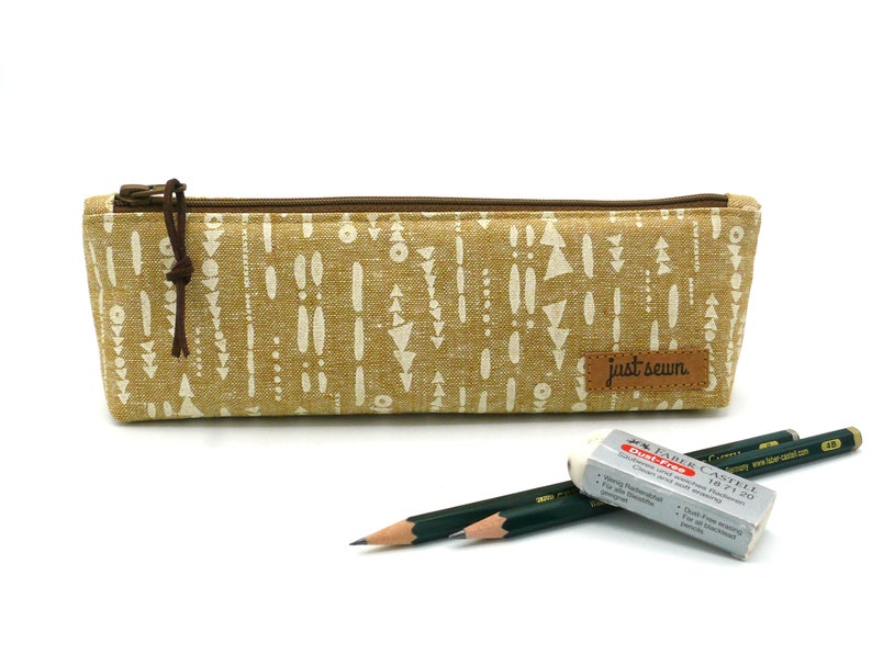 Pencil case Pattern  Tan image 0