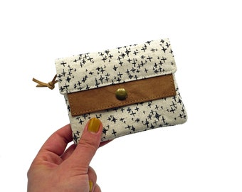"Small wallet ""Stars"" | Nature | vegan"