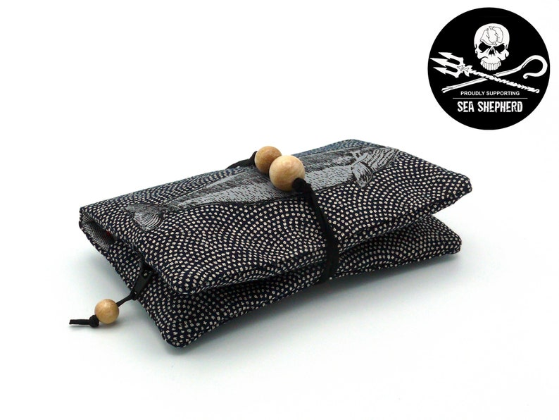 Tobacco bag/rotary bag Whale  Save the Oceans  image 0