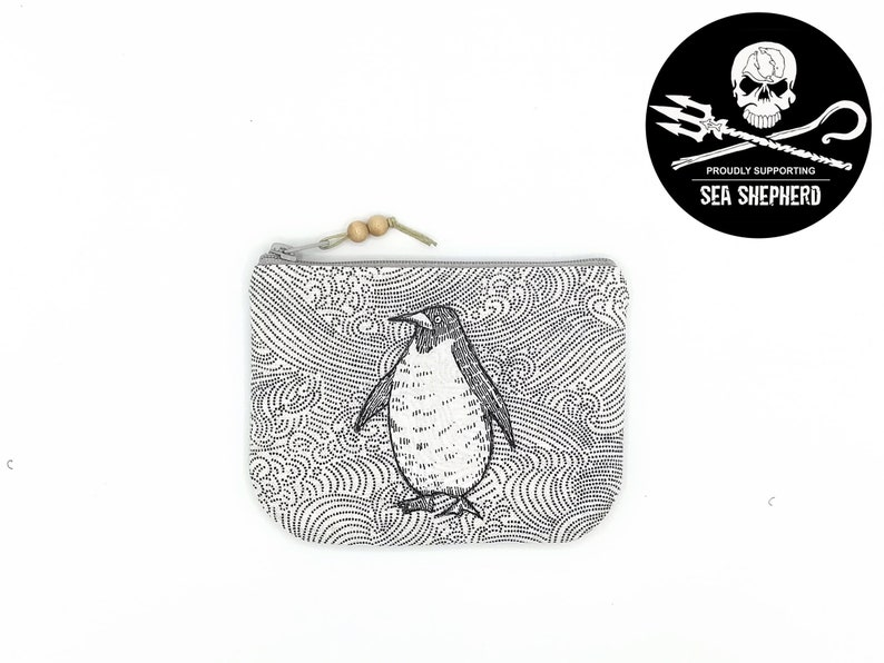Bags/Make-up Pomb Penguin  Save the Oceans image 0
