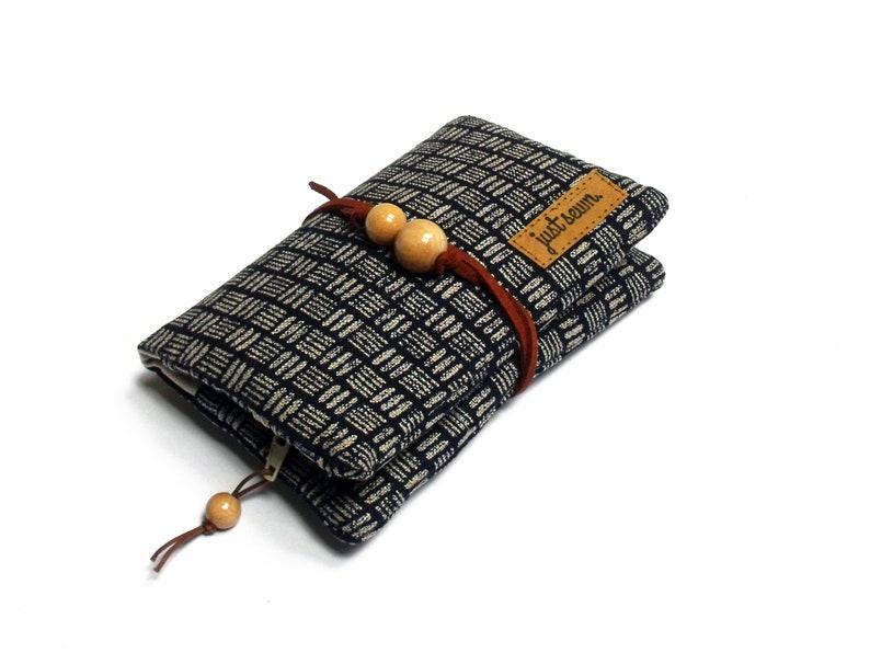 Tobacco Bag/Revolving Bag  Indigo  Japanese image 0